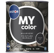 Histor My Color Muurverf Extra Mat Whitby Jet