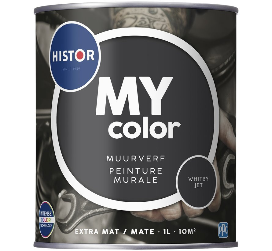 My Color Muurverf Extra Mat Whitby Jet