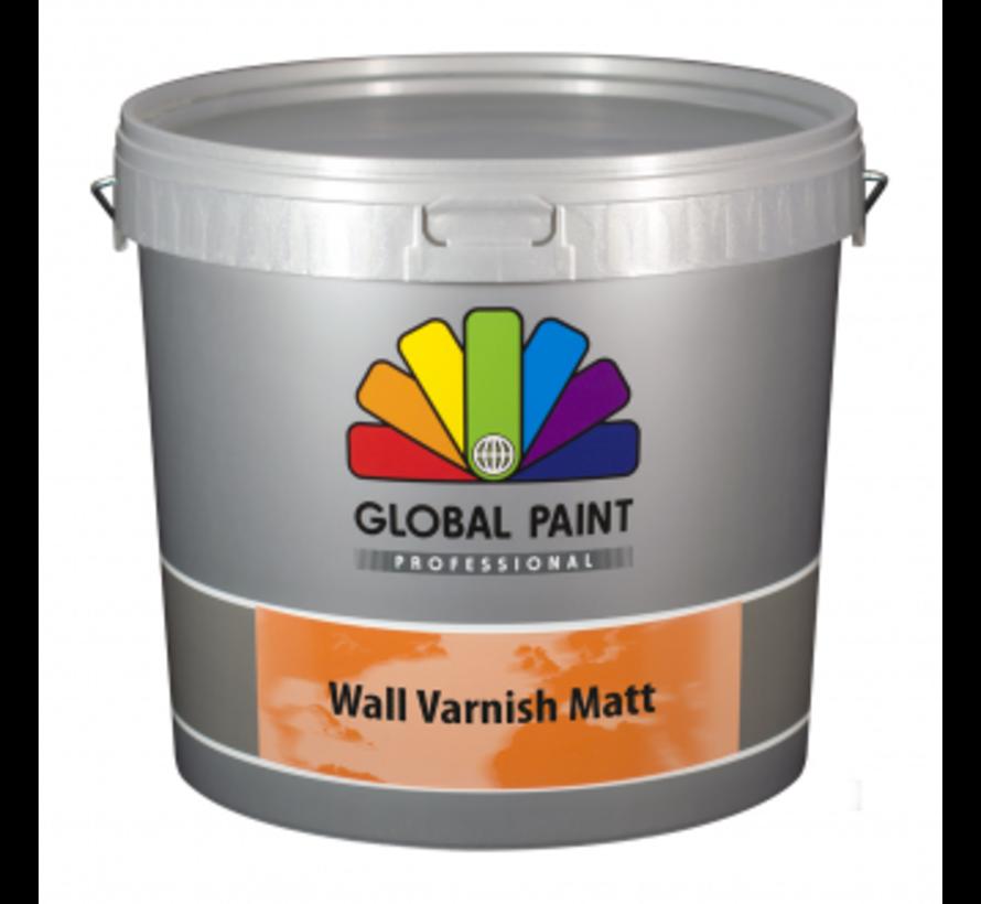 Wall Varnish Matt   Blanke Lak