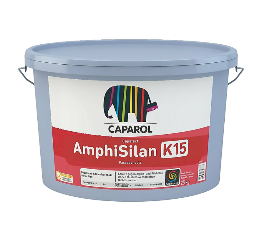 Capatect Amphisilan Fassadenputz K15 - 25 KG | Sierpleister Buiten