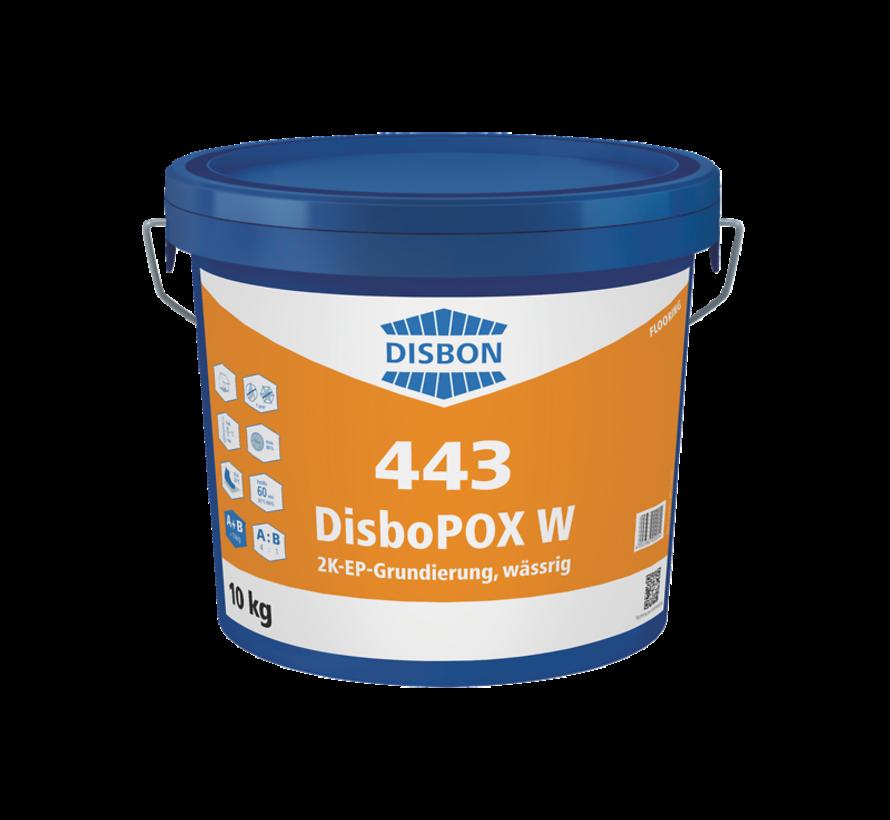 Disbopox W 443   Vloervoorstrijk Binnen
