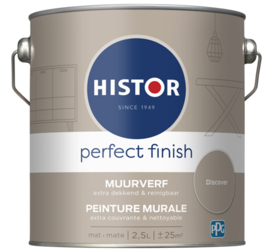 Perfect Finish Muurverf Mat Discover