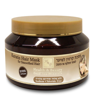 Masque à la Keratine pour Cheveux Lissés