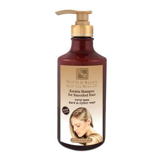 Shampooing Kératine Cheveux Lissés