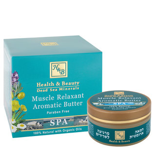 Beurre aromatique relaxant musculaire