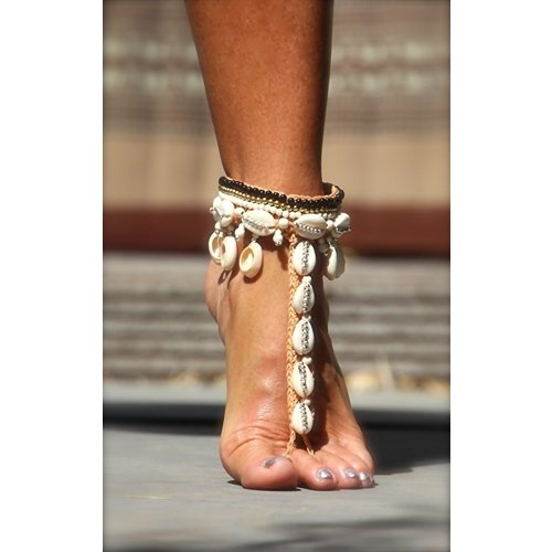 Barefoot sandals Concha naturel