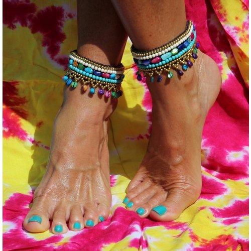 Enkelband Hippy de Colores multi color