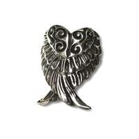 Zilveren BOHO ring Angel wings