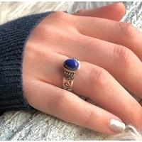 Zilveren ring met Lapis Lazuli steen