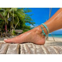 Enkelbandje Maui turquoise