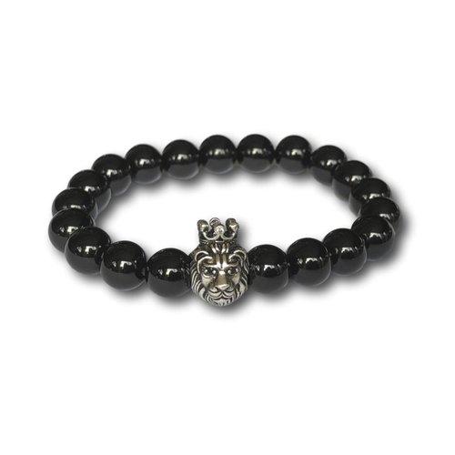 Kralen armband Lion King Black Onyx