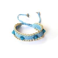 Klemarmband Yo Embrago blauw