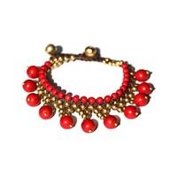 Armband Gypsy rood