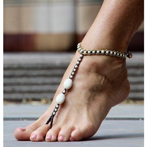 Barefoot sandals Feliz off-white
