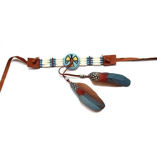 Indian Feather Choker / Upper arm bracelet