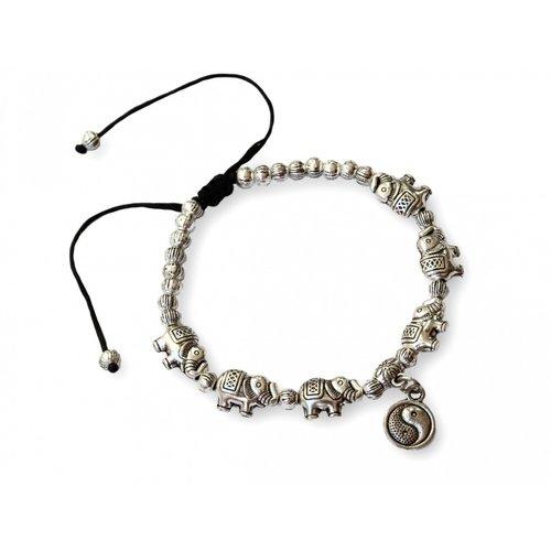 Bedel armbandje Elephant Yin-yang