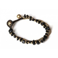 Armbandje Zwarte Onyx
