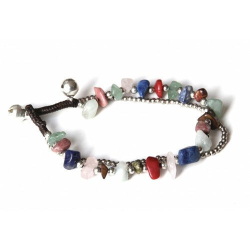 Armbandje Mixed Stone multicolor