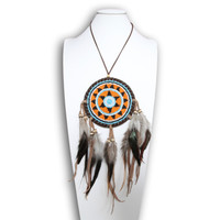 Indian Feather ketting