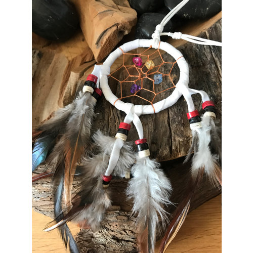 Dreamcatcher Feather ketting