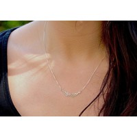 Zilveren Angel Wings ketting