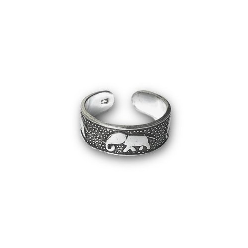 Teenring / vingertop ring ELEPHANT
