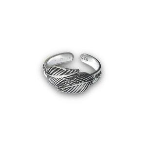 Teenring / vingertop ring LEAF