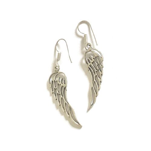Angel wings oorhangers