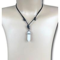 Ketting Opaalkwarts pendant