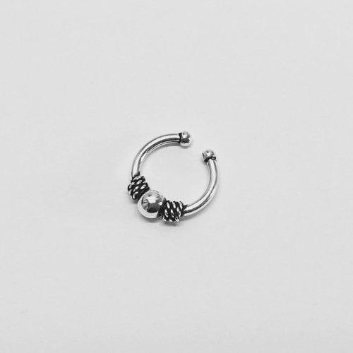 Bali Hoops Ear cuff Mila zilver