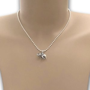 Ketting Olifant zilver