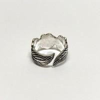 Teenring / vingertop ring HIPPY FLOWER