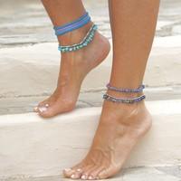 Enkelbandje Turquoise