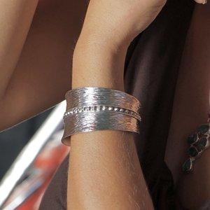Zilveren klemarmband Bohemian