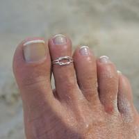 Teenring / vingertop ring INFINITY