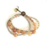 Armbandje Cherry quartz