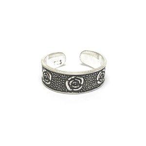 Teenring / vingertop ring ROSE