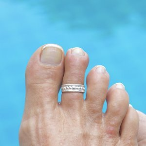 Teenring / vingertop ring ANGELA