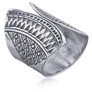 Zilveren BOHO ring