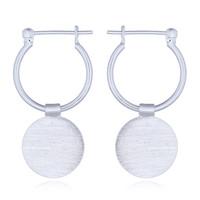 Zilveren oorbellen Disca