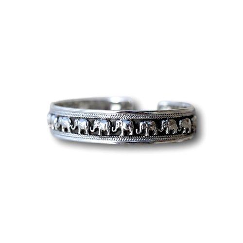 Zilveren armband Olifant