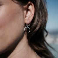 Zilveren oorbellen Lucia