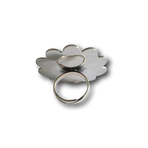 Zilveren boho ring Melody