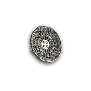Zilveren Boho ring Nirvana