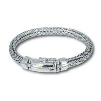Zilveren heren armband