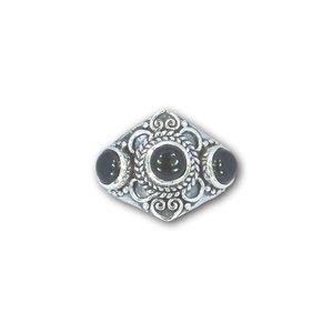 Zilveren ring Black Onyx Punjab