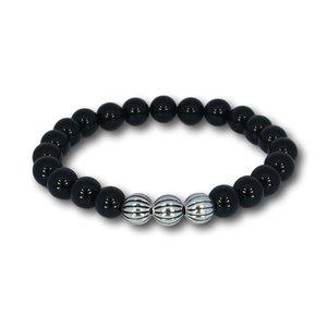 Kralen armband Black Onyx