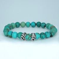 Kralen armband Turquoise