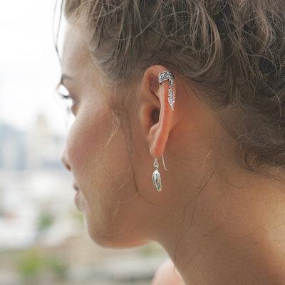 Ear cuffs zilver