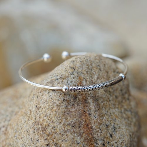 Zilveren armband New Bali
